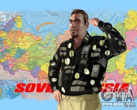 Pantalla de arranque de Rusia en América para GTA 4 quinta pantalla