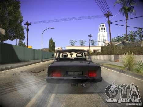 Tofas 124 Serçe para la visión correcta GTA San Andreas