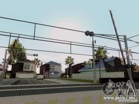 FERROCARRIL cruzando RUS V 2.0 para GTA San Andreas sucesivamente de pantalla