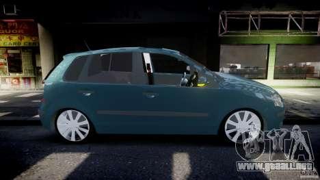 Volkswagen Polo 1998 para GTA 4 vista lateral