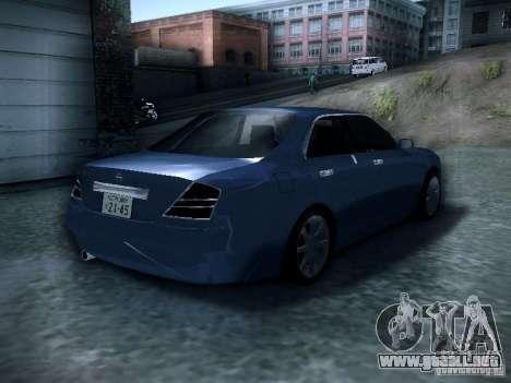 Nissan Gloria para GTA San Andreas vista posterior izquierda