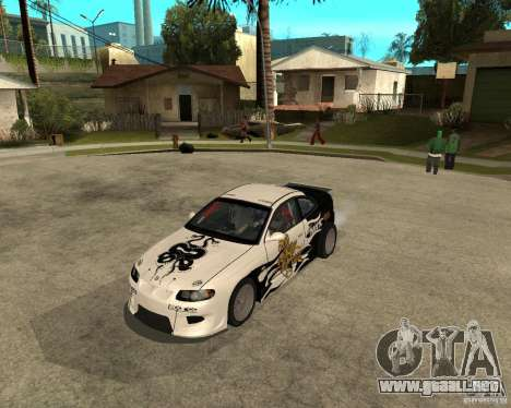 Vauxhall Monaro Rogue Speed para GTA San Andreas