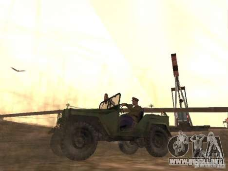 Oficial soviético BOB para GTA San Andreas segunda pantalla