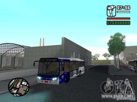 Busscar Urbanuss Ecoss MB 0500U Sambaiba para GTA San Andreas