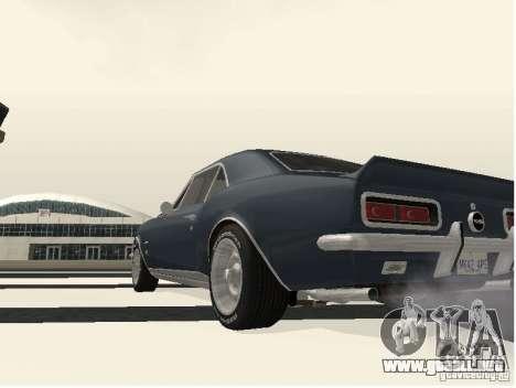 Chevrolet Camaro SS 396 Turbo-Jet para la visión correcta GTA San Andreas