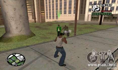 Gun Seller para GTA San Andreas segunda pantalla