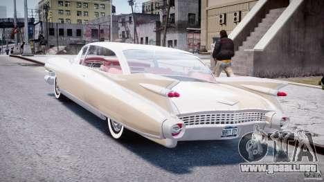 Cadillac Eldorado 1959 (Lowered) para GTA 4 Vista posterior izquierda