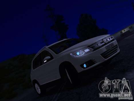Volkswagen Tiguan 2.0 TDI 2012 para vista inferior GTA San Andreas