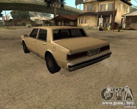 New Greenwood para GTA San Andreas left