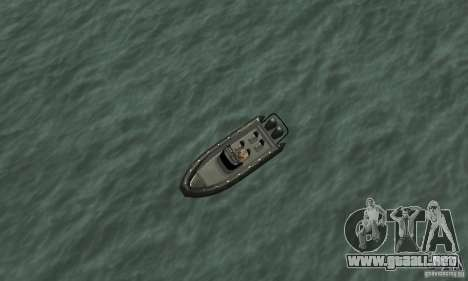 GTAIV Dinghy para la visión correcta GTA San Andreas