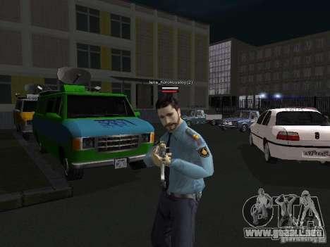 Pieles de milicia para GTA San Andreas sucesivamente de pantalla