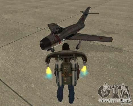 URSS MIG 15 para GTA San Andreas