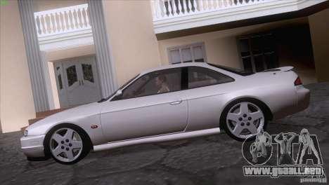 Nissan Silvia S14 Kouki para la visión correcta GTA San Andreas
