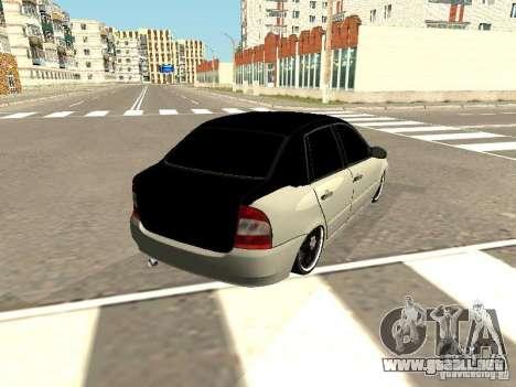 Lada Kalina para GTA San Andreas left