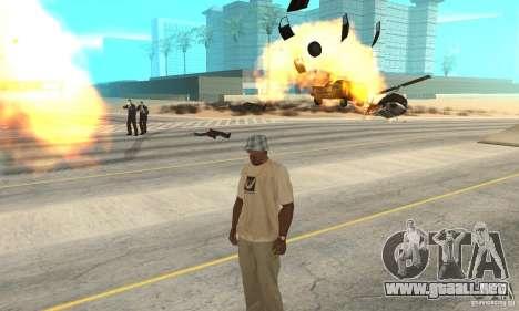 Gods_Anger (la ira de Dios) para GTA San Andreas segunda pantalla