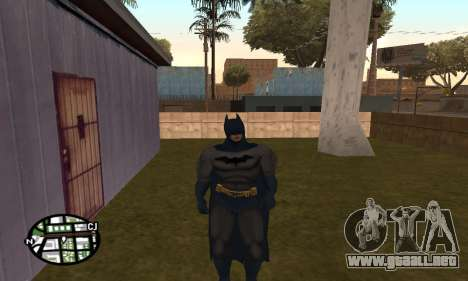 Dark Knight Skin Pack para GTA San Andreas sucesivamente de pantalla