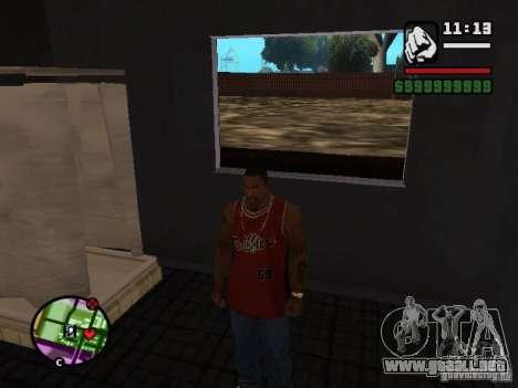 Privado CJ para GTA San Andreas tercera pantalla
