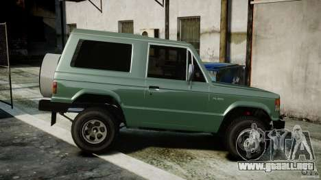 Mitsubishi Pajero I [Final] para GTA 4 left