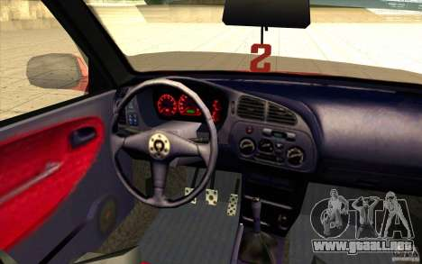 Mitsubishi Lancer Evo 6 para la vista superior GTA San Andreas