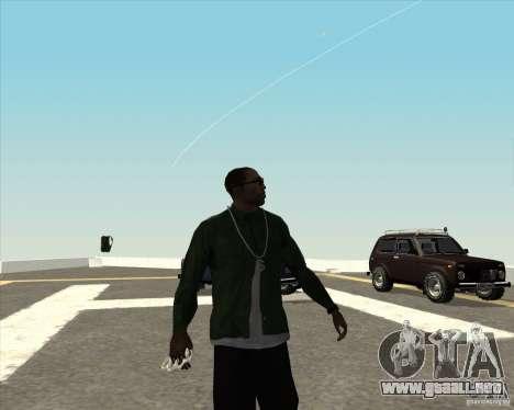 Animación diferente para GTA San Andreas
