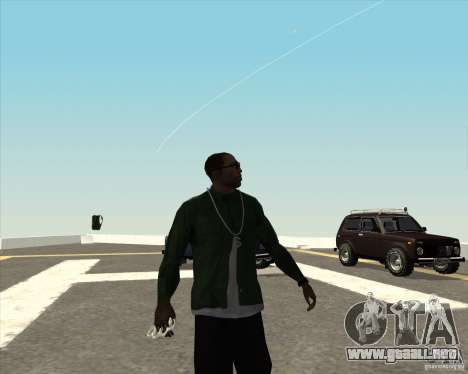 Animación diferente para GTA San Andreas sucesivamente de pantalla