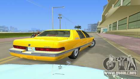 Buick Roadmaster 1994 para GTA Vice City vista lateral izquierdo