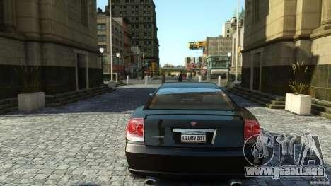 Civilian Buffalo v2 para GTA 4 vista hacia atrás