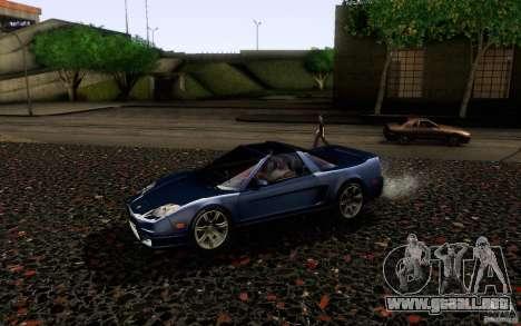 Acura NSX Targa para GTA San Andreas