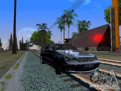 Mercedes-Benz CLK55 AMG para GTA San Andreas left