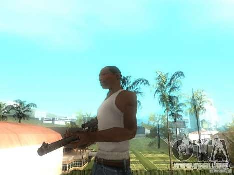 Rifle VSS Vintorez para GTA San Andreas segunda pantalla