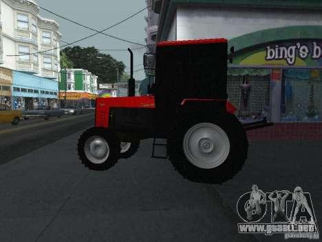 Tractor MTF 1025 para GTA San Andreas left