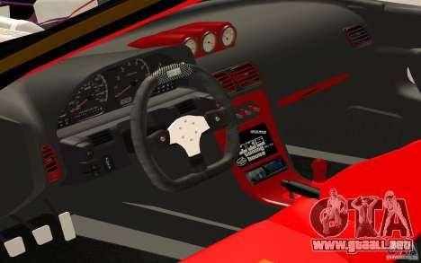 Nissan Silvia S13 Crash Construction para la visión correcta GTA San Andreas