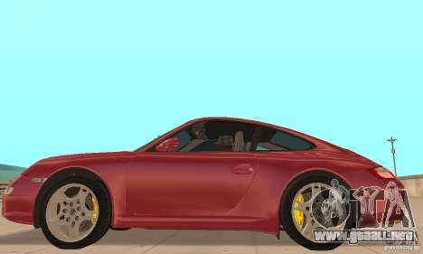 Porsche 911 (997) Carrera S v1.1 para GTA San Andreas left