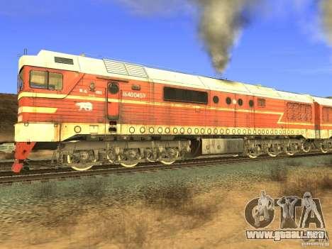FERROCARRIL mod para GTA San Andreas octavo de pantalla