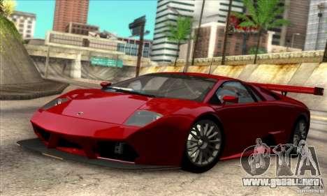 Lamborghini Murcielago R-SV GT1 para GTA San Andreas