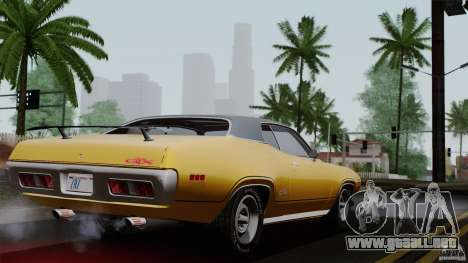 Plymouth GTX 426 HEMI 1971 para GTA San Andreas left