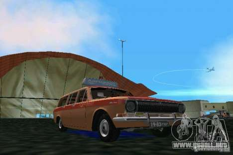 Volga GAZ 2402-Aeroflot para GTA Vice City left