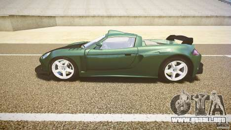 Porsche Carrera GT para GTA 4 left