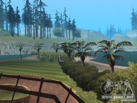 Mansión de la isla para GTA San Andreas sucesivamente de pantalla