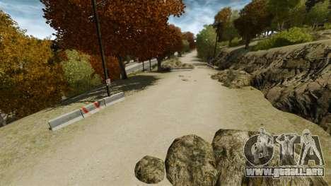 Rally de pista para GTA 4 segundos de pantalla