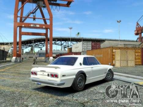 Nissan Skyline 2000 GTR para GTA 4 left