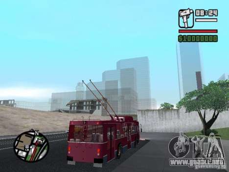 ZIU 682GM 1 para vista lateral GTA San Andreas