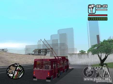 ZIU 682GM 1 para vista lateral GTA San Andreas