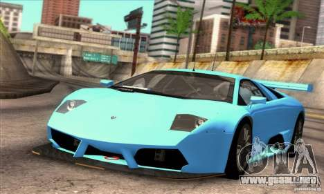 Lamborghini Murcielago R-SV GT1 para la vista superior GTA San Andreas