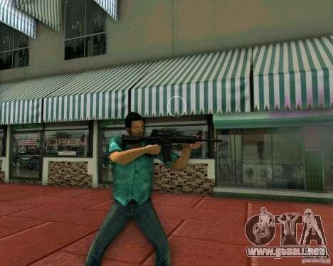 M4A1 para GTA Vice City tercera pantalla