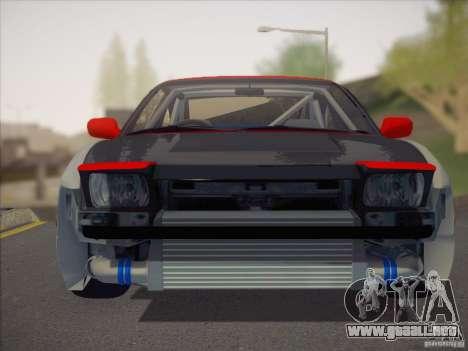 Nissan RPS13 Drift Korch para la visión correcta GTA San Andreas