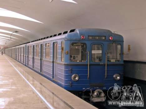 Metro e para la vista superior GTA San Andreas