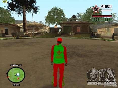Reemplazo total de la tienda Binco Adidas para GTA San Andreas twelth pantalla