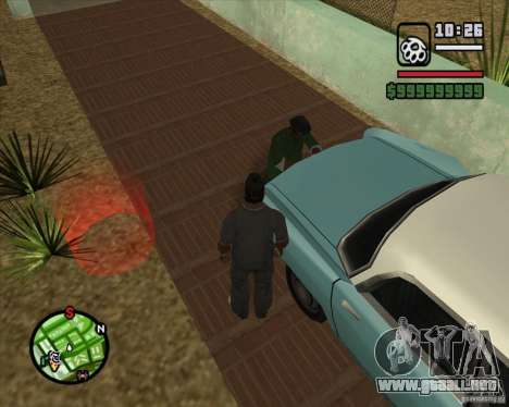 Greetings 2U: GS para GTA San Andreas segunda pantalla