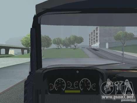 Tablero de instrumentos activos v.3.0 para GTA San Andreas twelth pantalla
